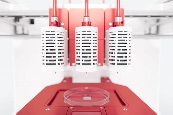 Allevi 3 bioprinter extruders