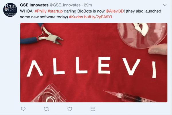 Biobots is now allevi