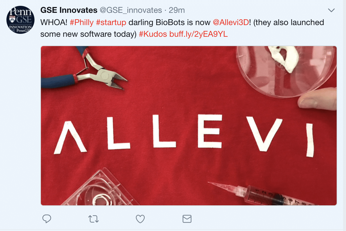 Biobots is now allevi