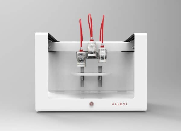 Allevi 3 bioprinter triple extruder bioprinter