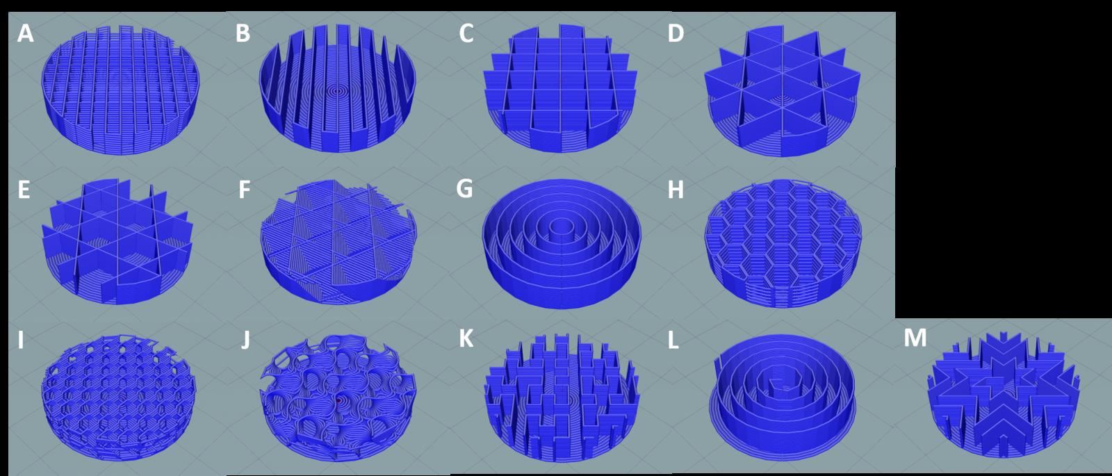 infill pattern