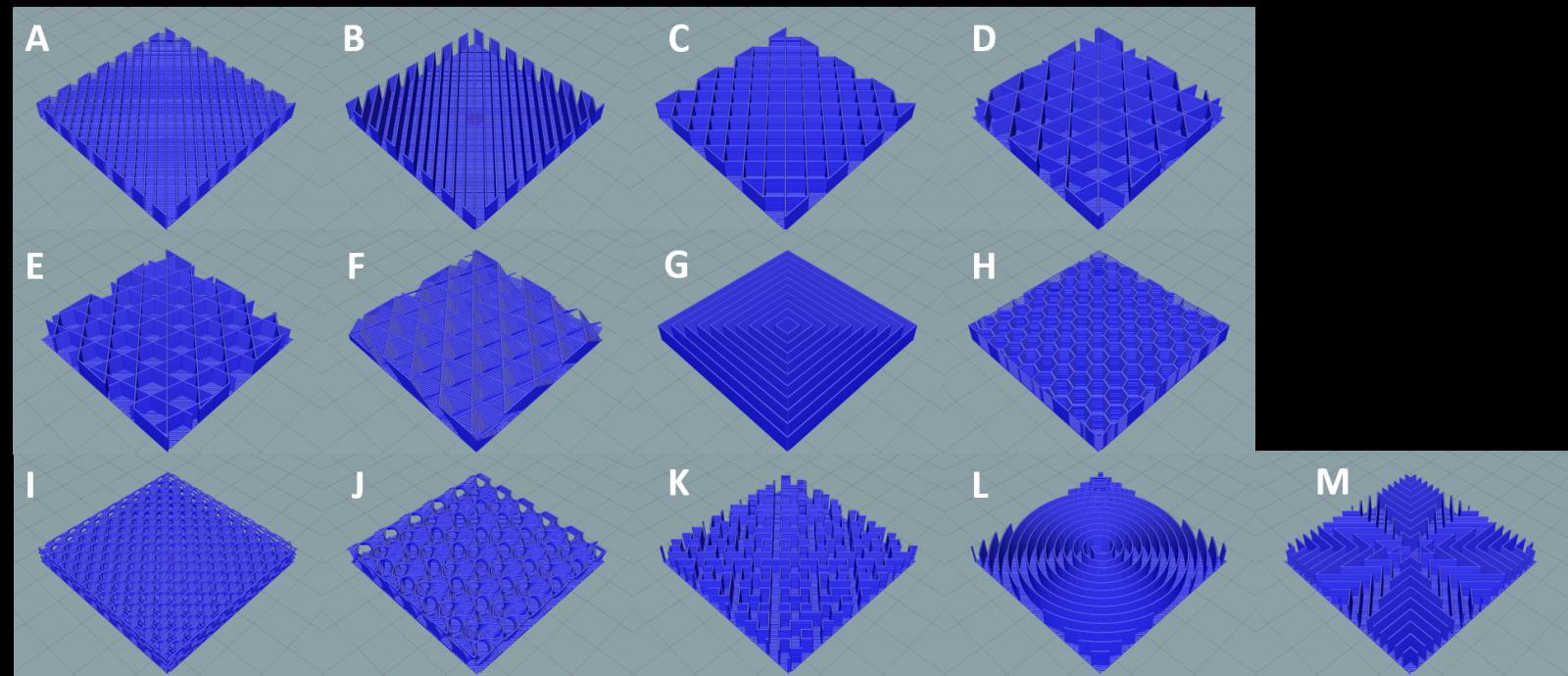 slic3r infill pattern