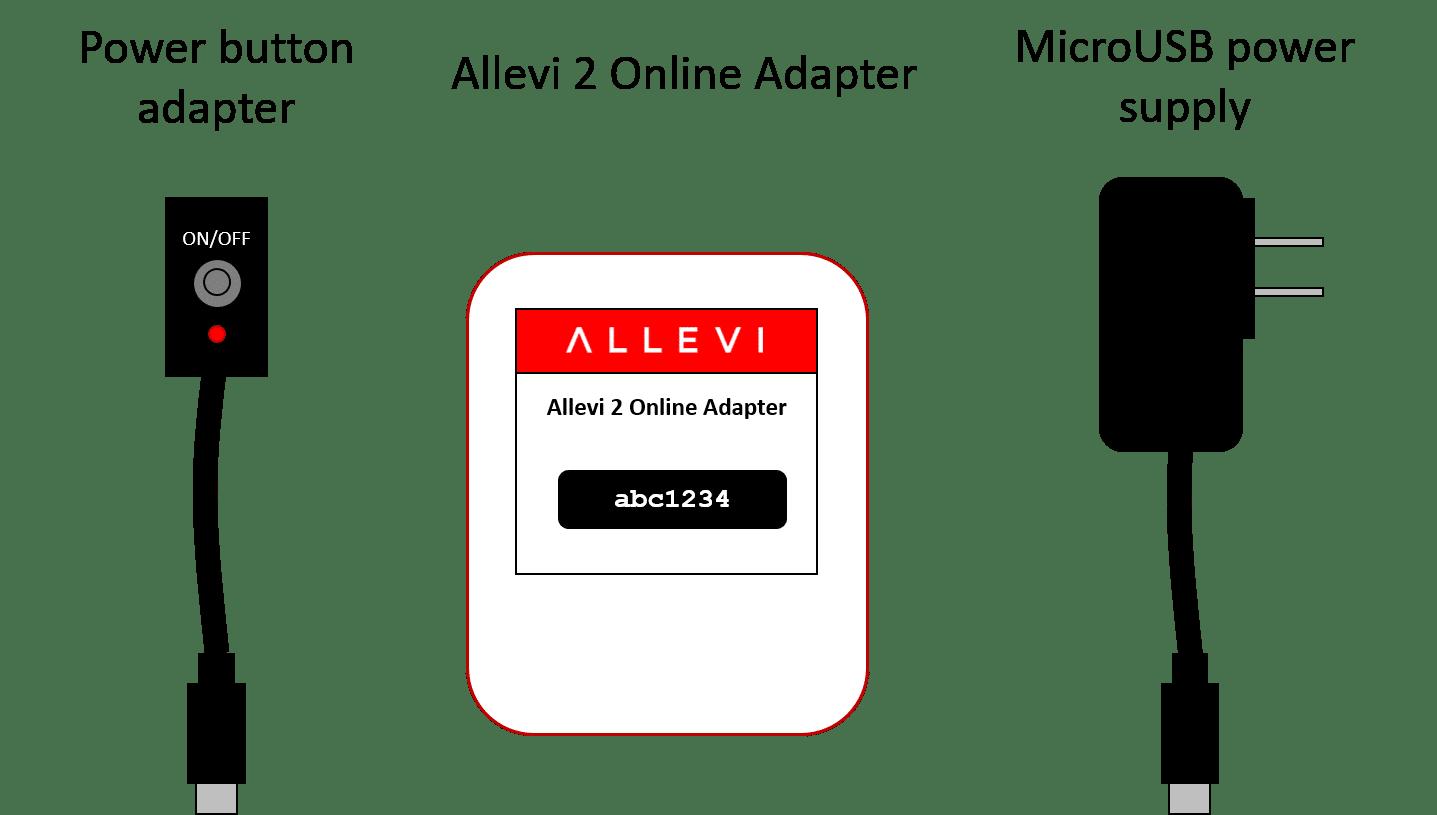 allevi 2 online adapter