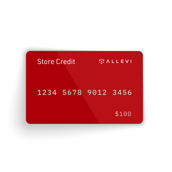 allevi store credit